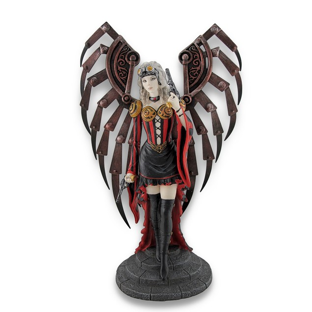 Anne Stokes Avenger Steampunk Angel Statue Statues