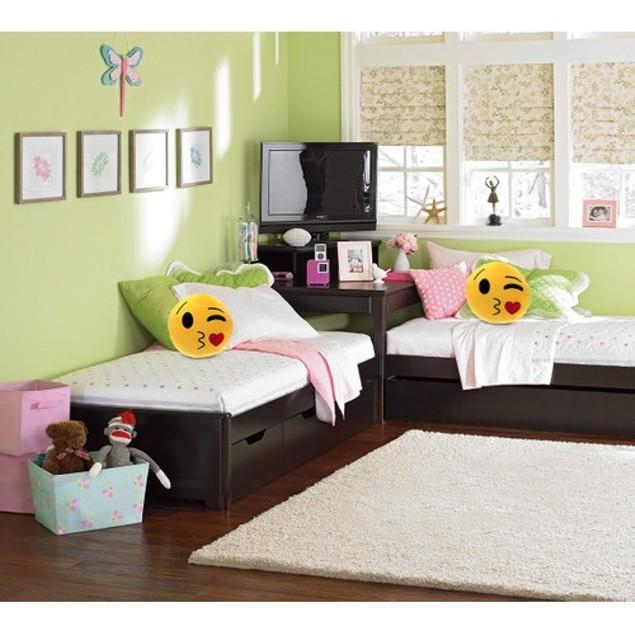 "Large 12"" Emoji Cute Pillow - Fully Stuffed Soft Plush & Funny"