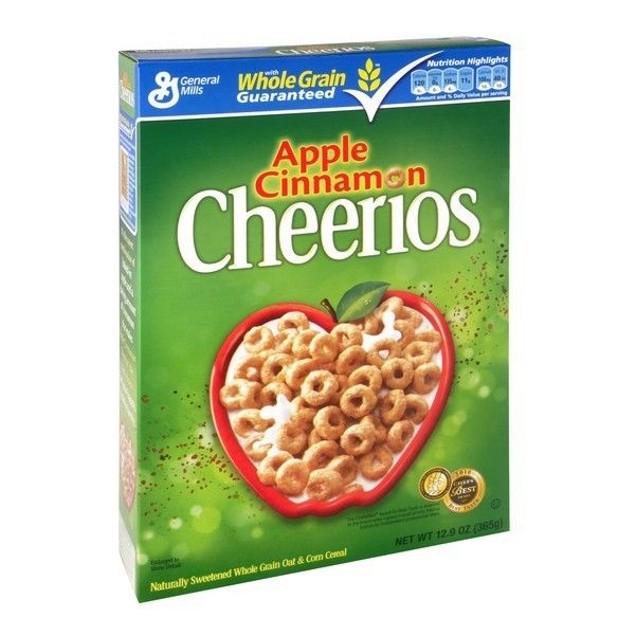 Apple Cinnamon Cheerios Cereal 12.9oz Box