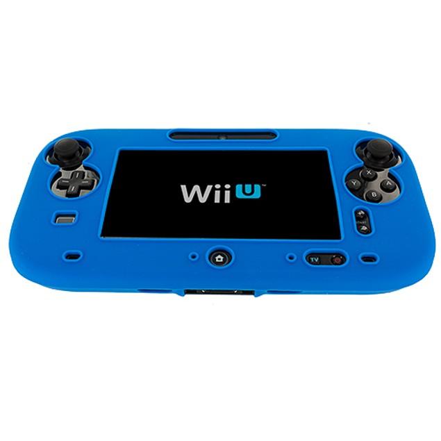 Nintendo Wii U Silicone Skin Case Cover