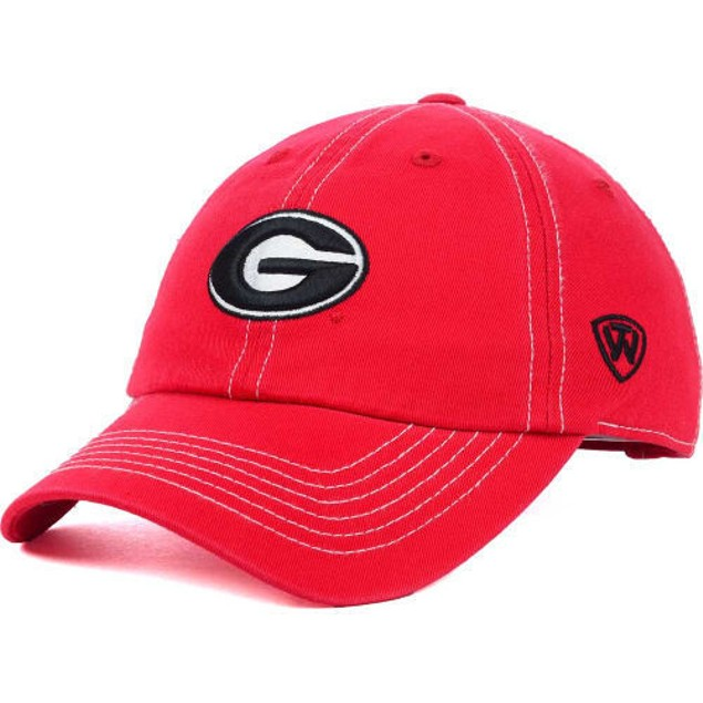 "Georgia Bulldogs NCAA TOW ""Stitches"" Adjustable Hat"