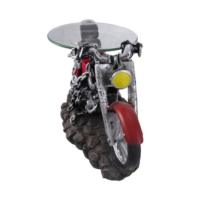 `Born To Be Wild` Red Motorcycle Electric Oil Home Fragrance Lamps