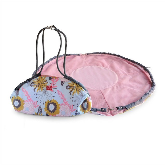 Easy Toy Bag and Play Mat Combo - 2 Colors