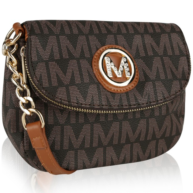 MKF Collection York M Signature Cross body by Mia K Farrow