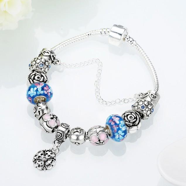 Blue Raspberry Flavored Designer Inspired Bracelet