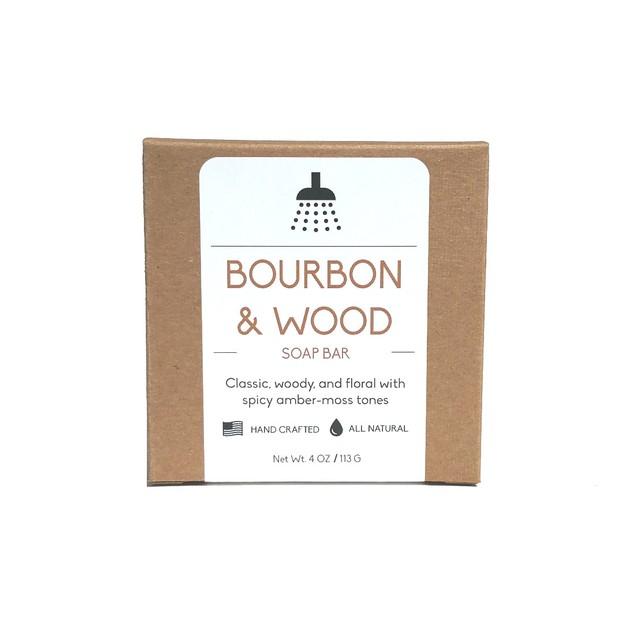 Bourbon & Sandalwood Soap Bar