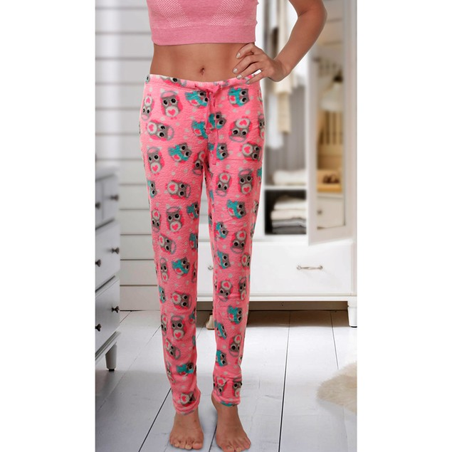 3-Pack Mystery Women's Soft & Plush Fleece Pajama Pants
