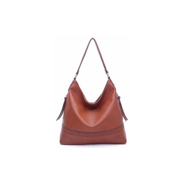 MKF Collection Elle Vegan Leather Fashion Hobo Bag by Mia K. Farrow