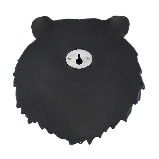 Black Bear Face Mini Bust Wall Hanging Wall Sculptures