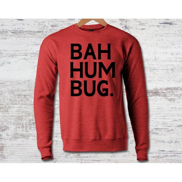 Bah Humbug Crew Neck Sweatshirt