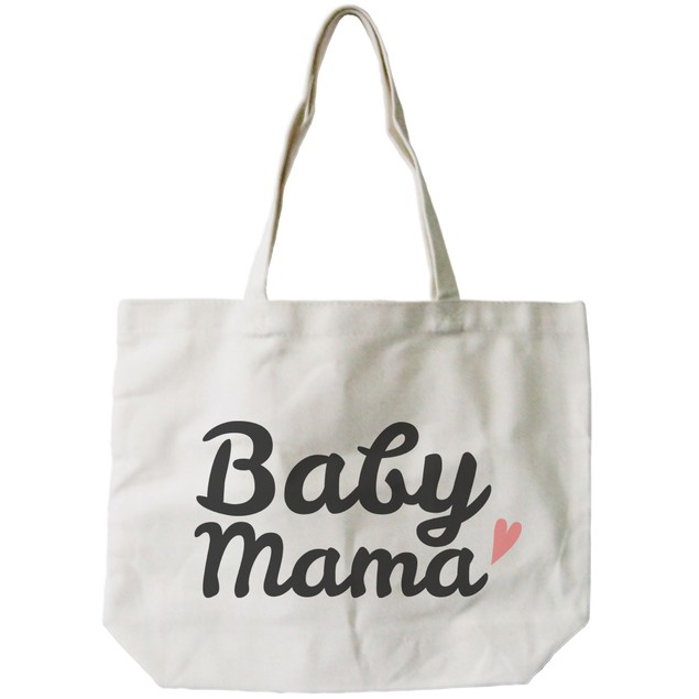 Baby Mama Diaper Canvas Bag