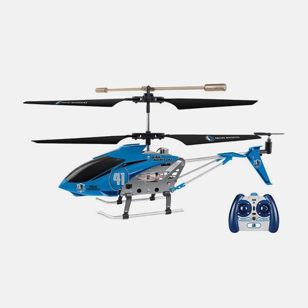 NBA Licensed Dallas/Dirk Nowitzki RC Helicopter