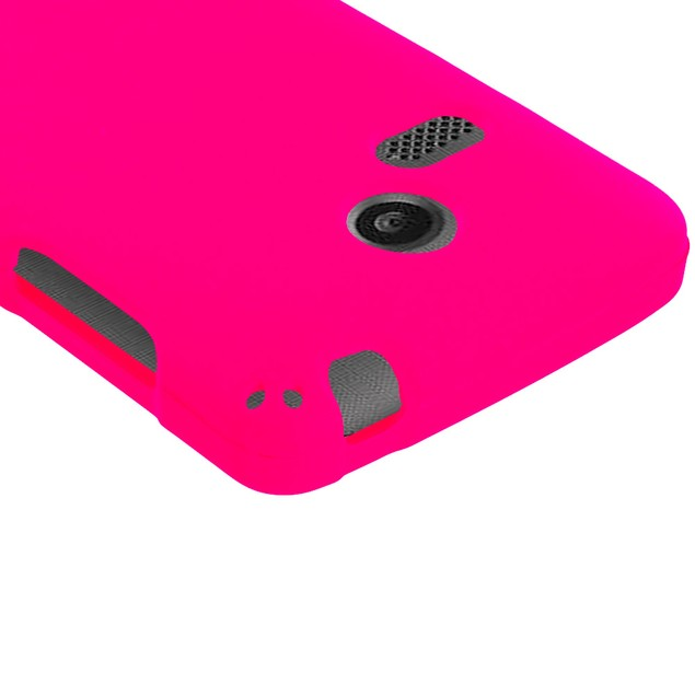 LG Sunrise Lucky L15G L16C Hard Rubberized Case Cover