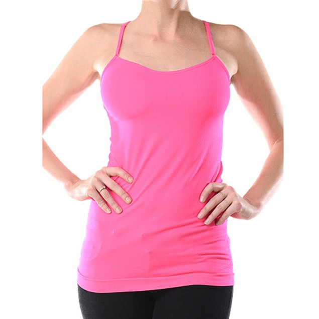 6-Pack: Women's Assorted  Active Stretchy Tank Top