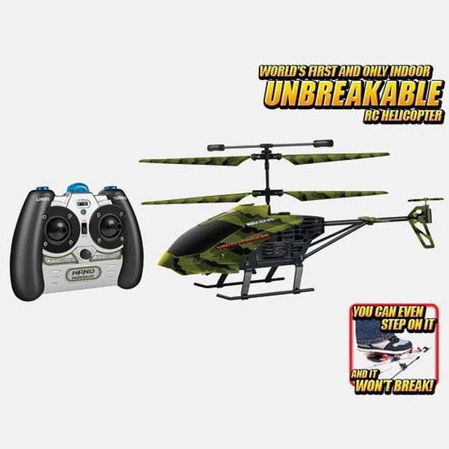 Camo Nano Hercules Unbreakable 3.5CH RC Helicopter
