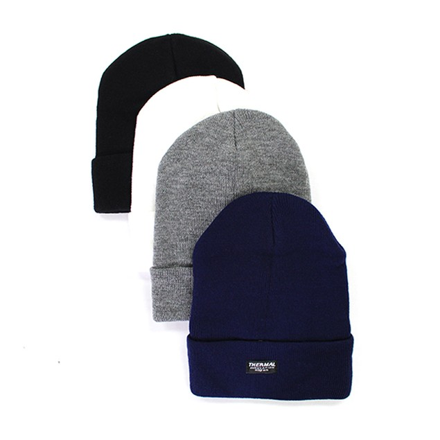 4-Pack Unisex Thermal Insulated Beanies