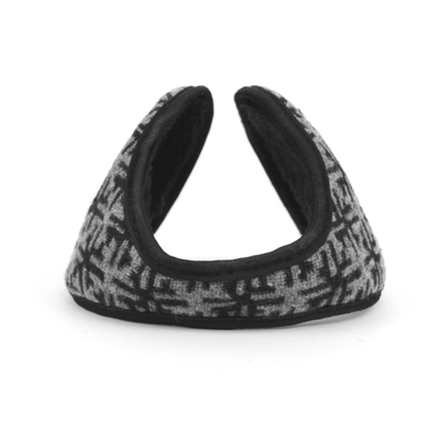 Snowflake Pattern Ear Warmers