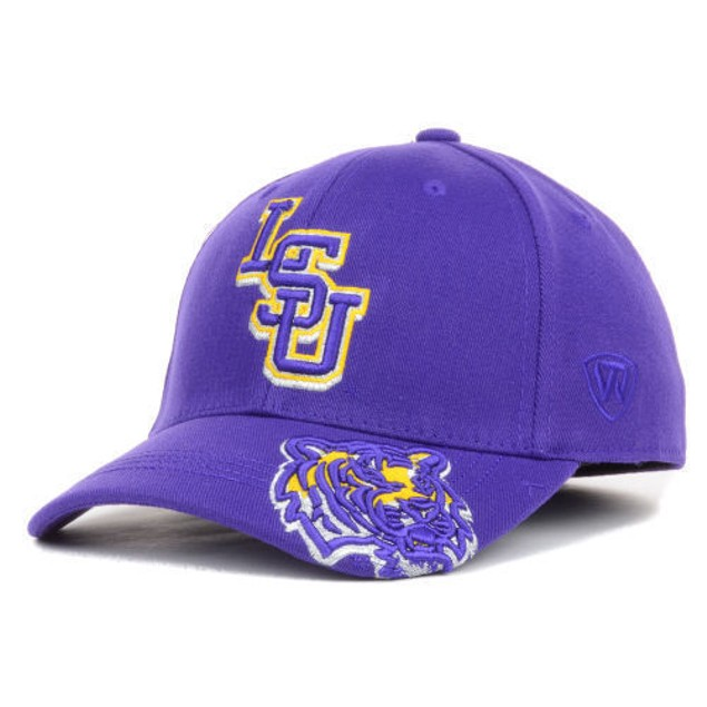 "LSU Tigers NCAA TOW ""Shimmering"" Stretch Fitted Hat"