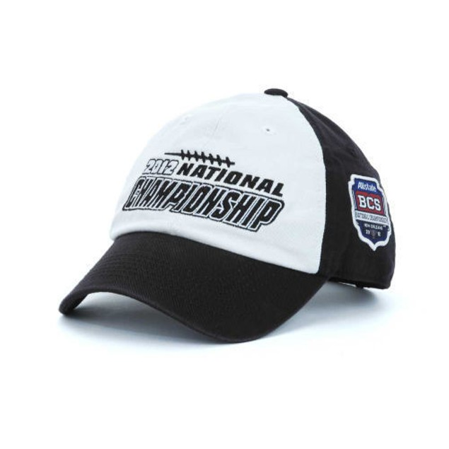 NCAA BCS National Championship Hat With Adjustable Strap New