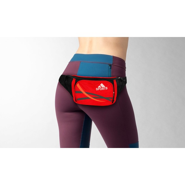 Ultra-Slim Expandable Sports Waist Fanny Pack