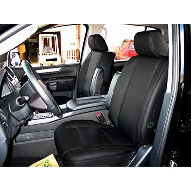 Zone Tech Black Interior Decor Leather Seat Black Car Covers