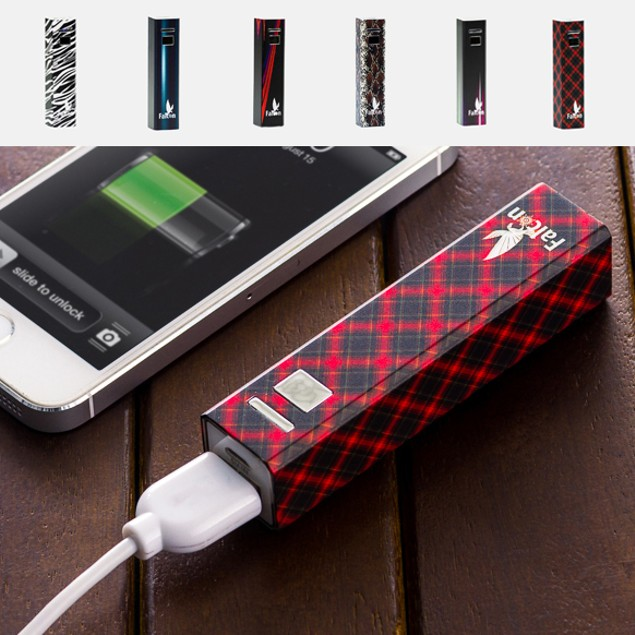 Lipstick Chic 2600mAh Compact Powerbank Charger