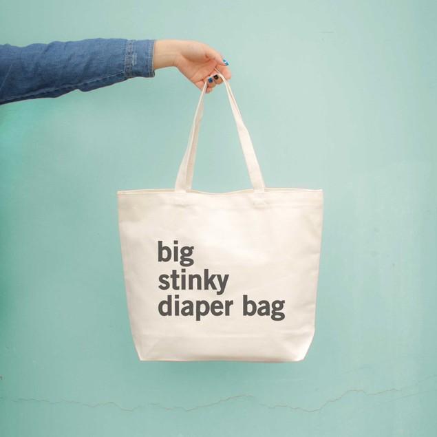 Big Stinky Diaper Bag