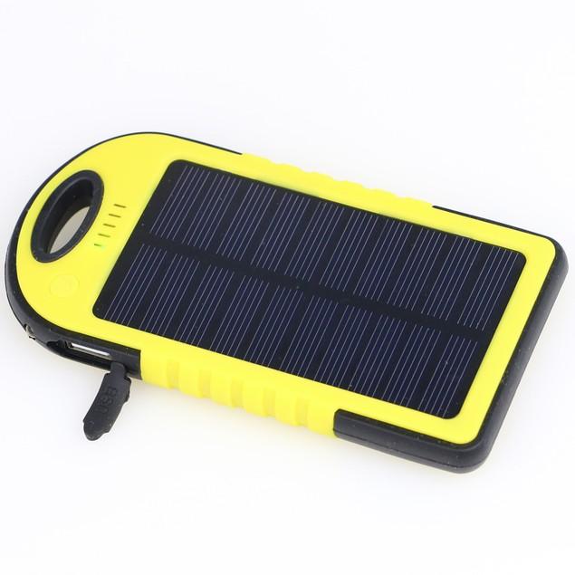 5,000 mAh Solar Powered Flash Charger