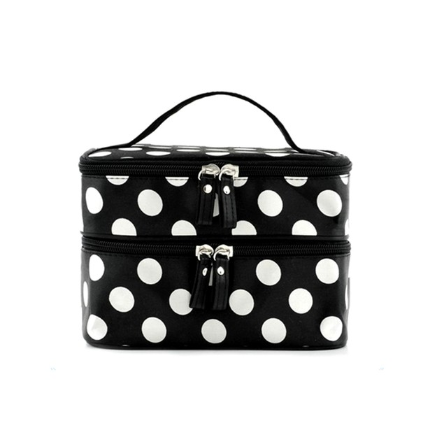Polka Dot Make Up Bag