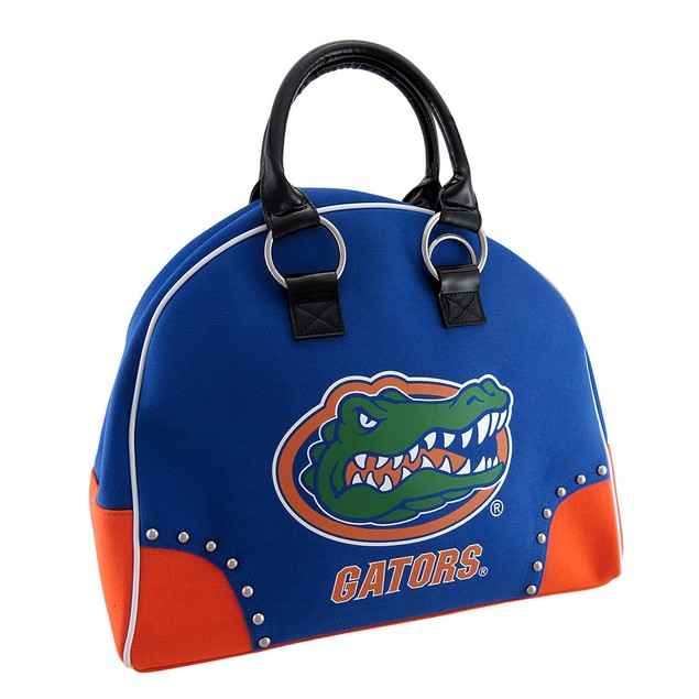 University Of Florida Gators Structured Canvas Gym Womens Duffel Bags