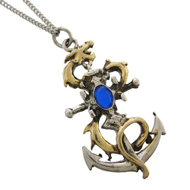 Drake`S Leviathan Pendant / Necklace Good Luck Mens Pendant Necklaces