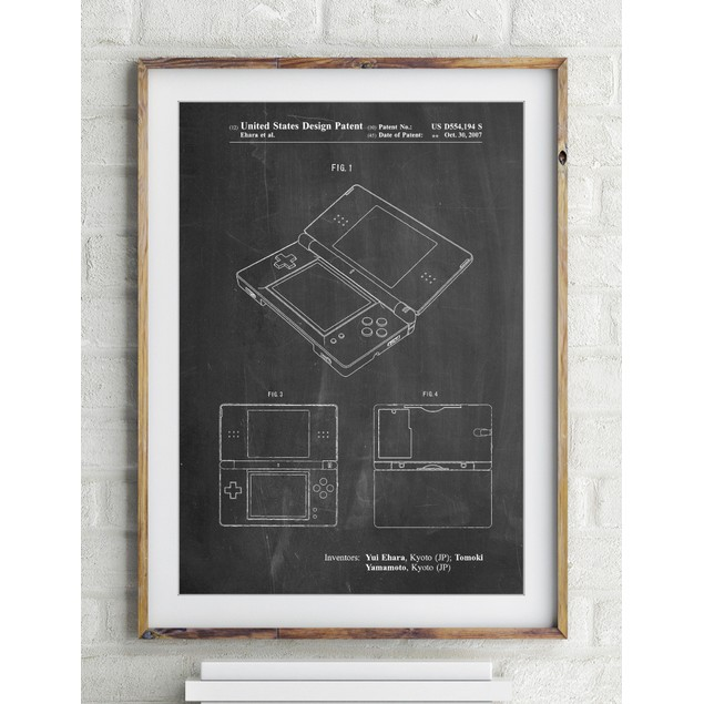 Nintendo DS Patent Poster