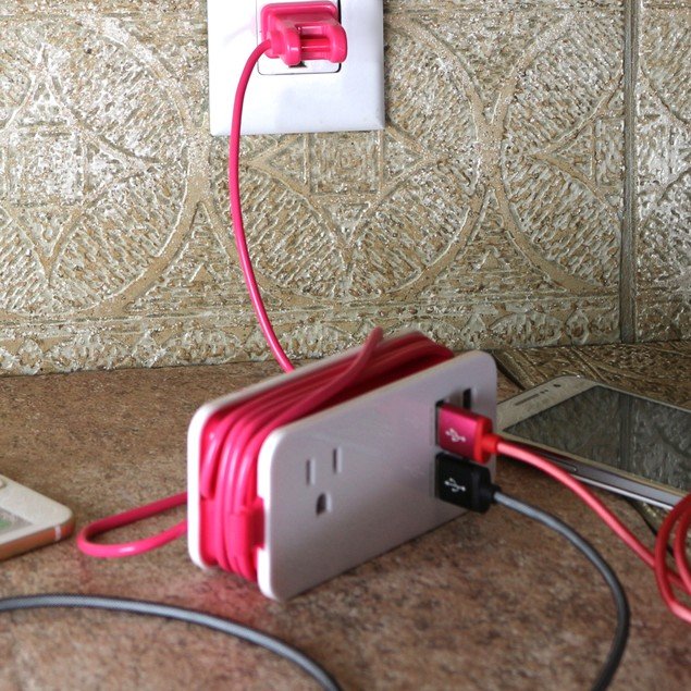 4200 MaH 4 Port USB Charging Station & Universal Power Socket