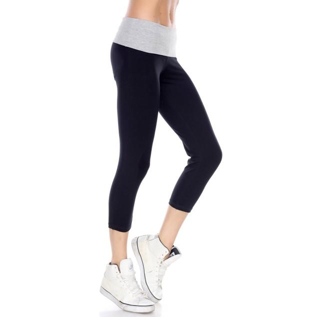 Stretchy Capri Yoga Pants