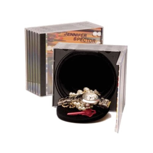 CD Safe Hidden Storage Compartment