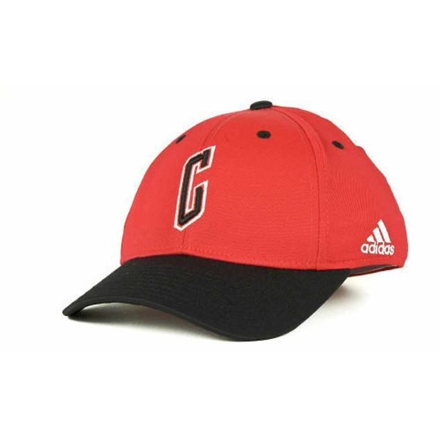 """Chicago Bulls NBA Adidas """"Courtside"""" Stretch Fitted Size L/XL Hat"""