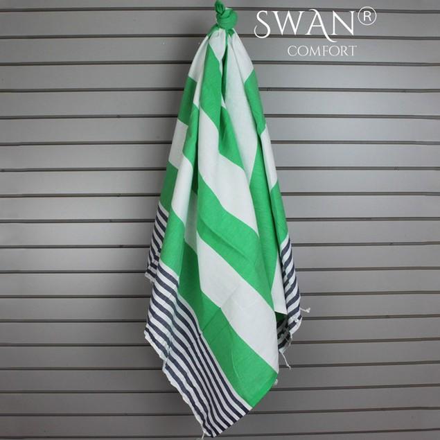 Swan Comfort 100% Cotton Peshtemal Turkish Bath Towel