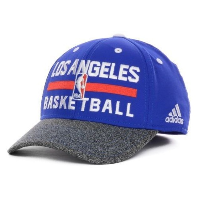 """Los Angeles Clippers NBA Adidas """"Team Practice"""" Stretch Fitted Hat"""
