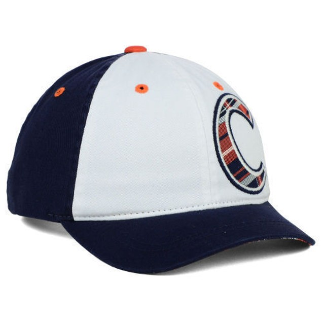 "Clemson Tigers NCAA Zephyr ""Women's Washed Plaid"" Adjustable Hat"
