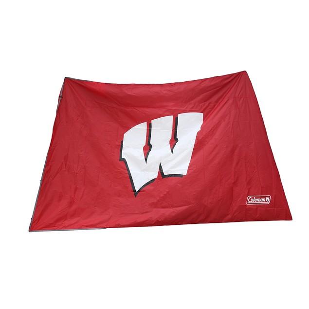 Ncaa Wisconsin Badgers 10X10 Slant Leg Canopy Family Tents