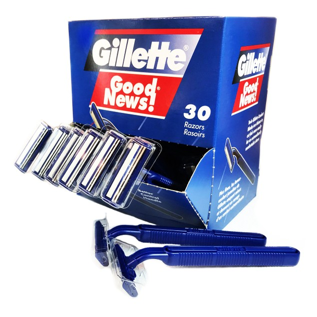30-Pack: Gillette Good News! Disposable Razors