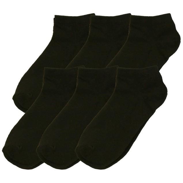 Women's Ankle Low Cut Blank Plain Socks