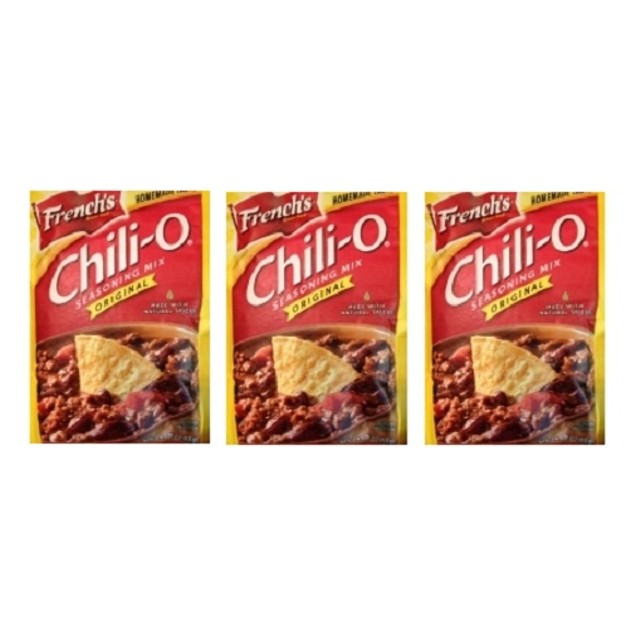 French's Chili-O Original Seasoning Mix 3 Packet Pack
