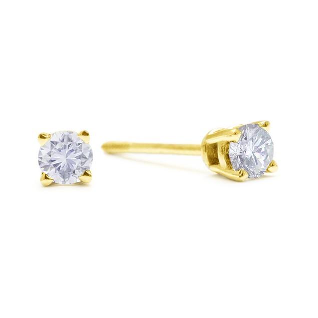 Diamond Stud Earrings 1/4cttw