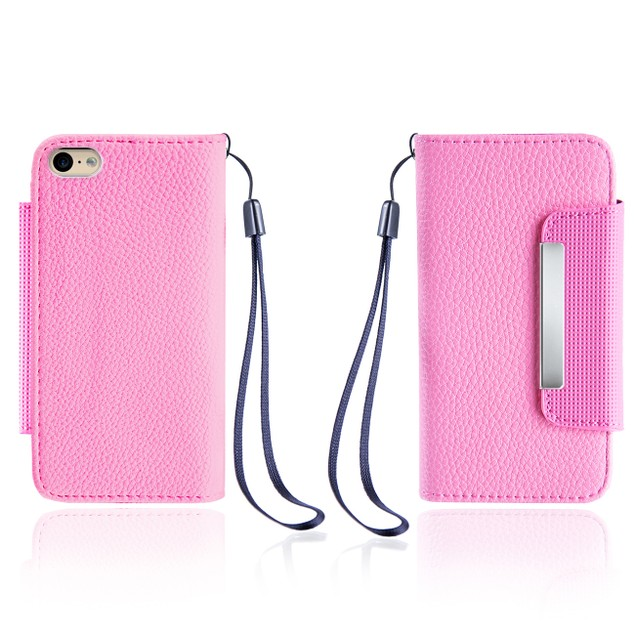 Leather Wallet Case With Clip for Apple iPhone 6/6S