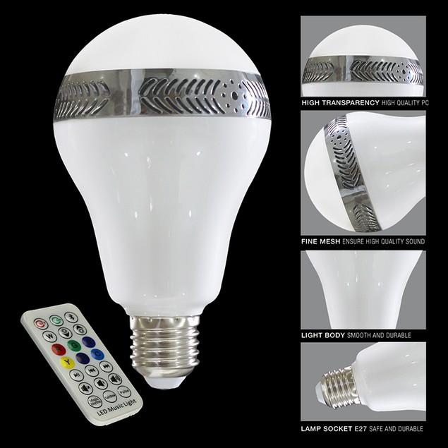 Bluetooth LED Music Light Bulb