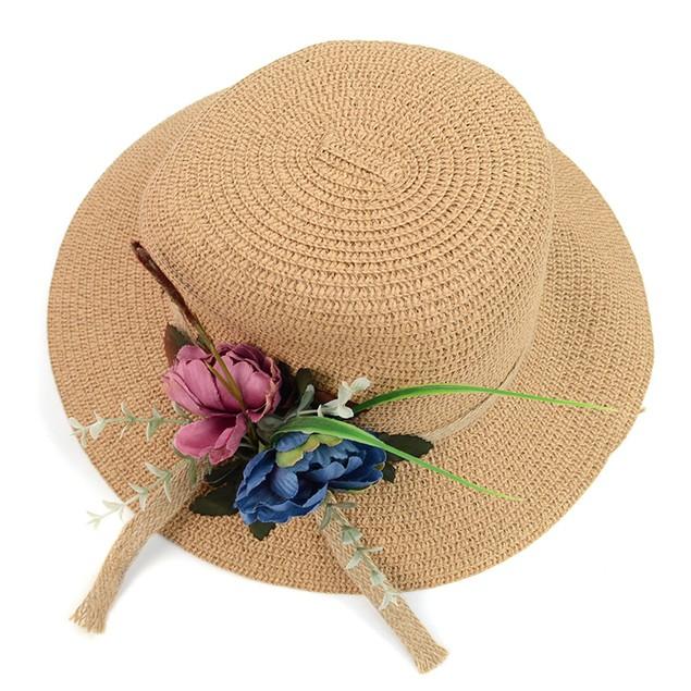 Women'sFlower Floppy Hat