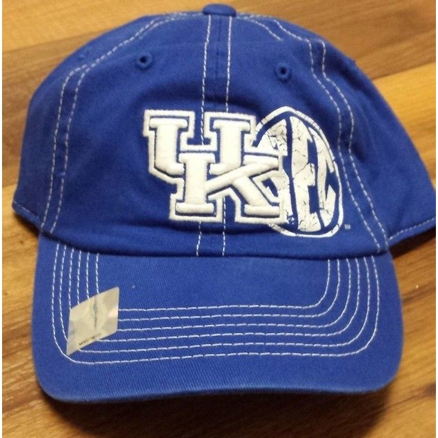 "Kentucky Wildcats NCAA TOW ""Conference Print"" Stretch Fitted Hat"