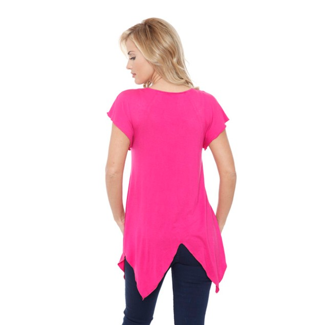 Women's 'Fenella' Embellished V-neck Top
