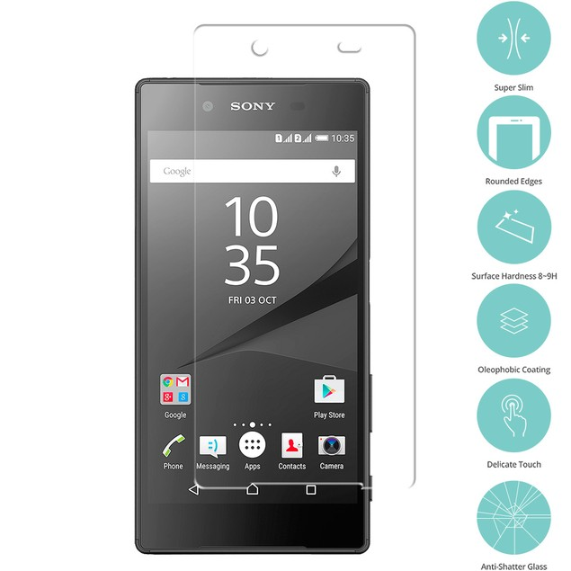 Sony Xperia Z5 Tempered Glass Film Screen Protector Clear